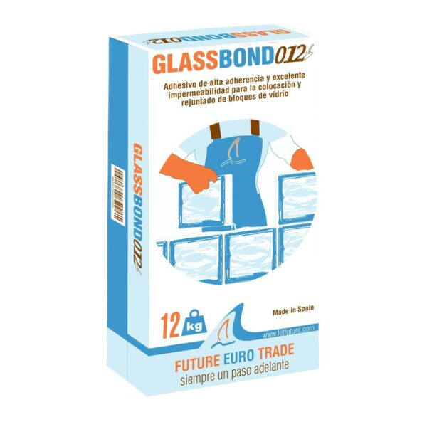 Accessories - 12 kg Glassbond Cement High Quality and White Color Glue For Glass Block
