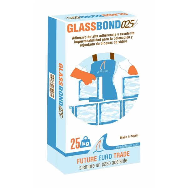accesorios glassbond cemento cola alta calidad blanco 25 kg