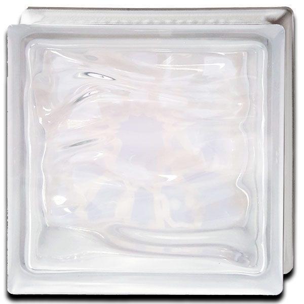 Alabaster Glass Block Arabic Trasera