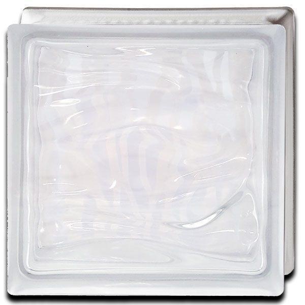 Alabaster Glass Block Water Trasera