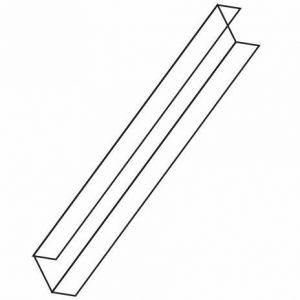 Binario System Perfil perimetral en U
