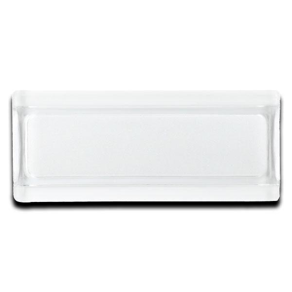 glass profile blanco