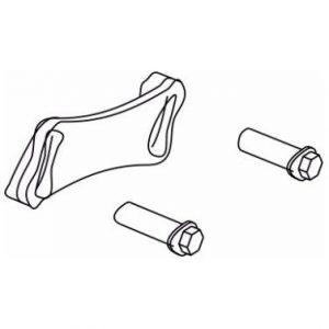 Metal System Enganche entre perfil perimetral y perfil horizontal