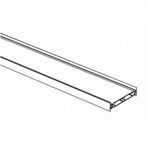 Metal System Perfil horizontal en aluminio