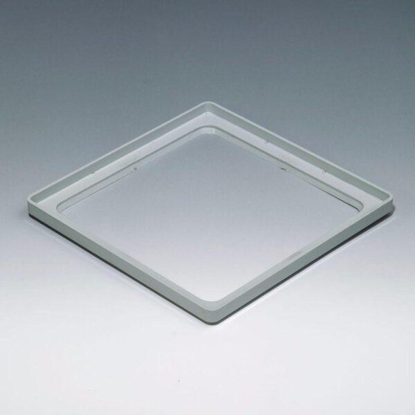 multiplo system adaptador de pvc para bloque de vidrio