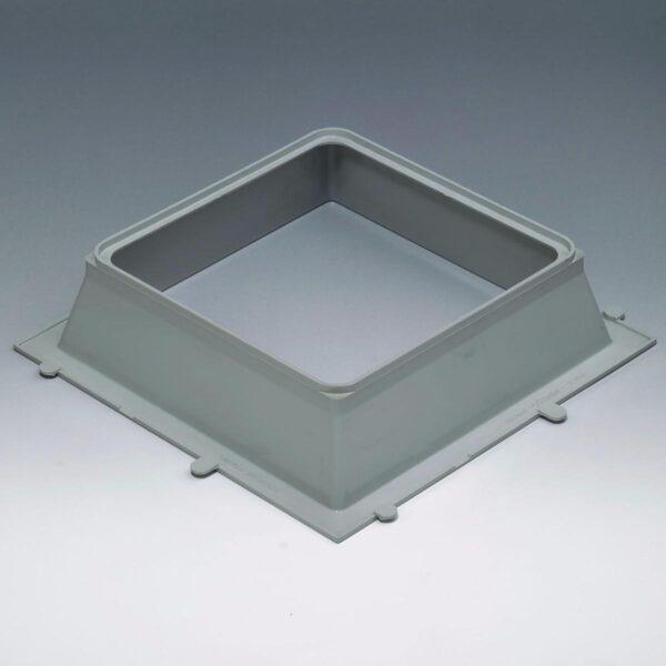 multiplo system marco de pvc para bloque de vidrio