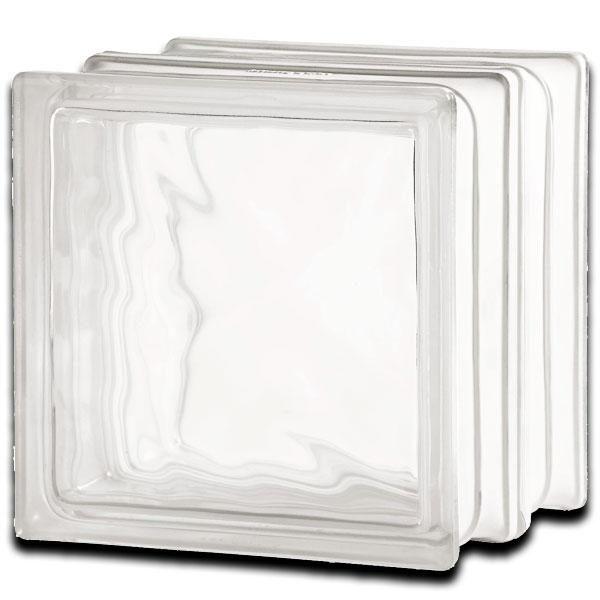 plus ondulado transparente satinado 1 cara
