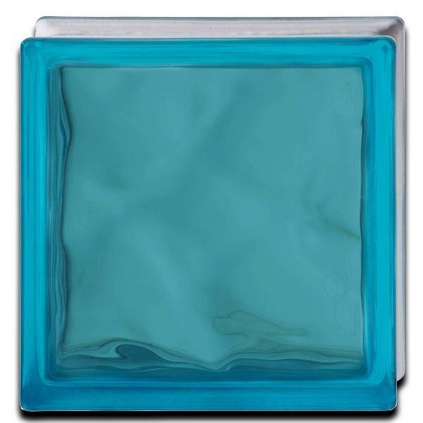 pure shade ondulado azzurro satinado privacy 1 cara